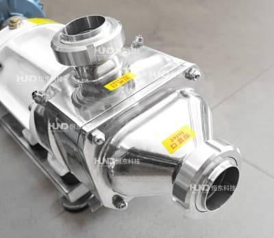 恒东双螺旋泵糖浆输送泵