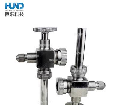 卫生级不锈钢液位计玻璃管液位阀