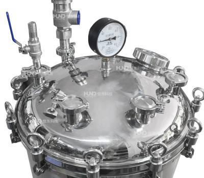 广州恒东锈钢发酵罐立式储罐